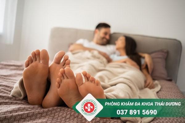 Sinh hoạt tình dục điều độ để tránh tình trạng tinh trùng vón cục trắng