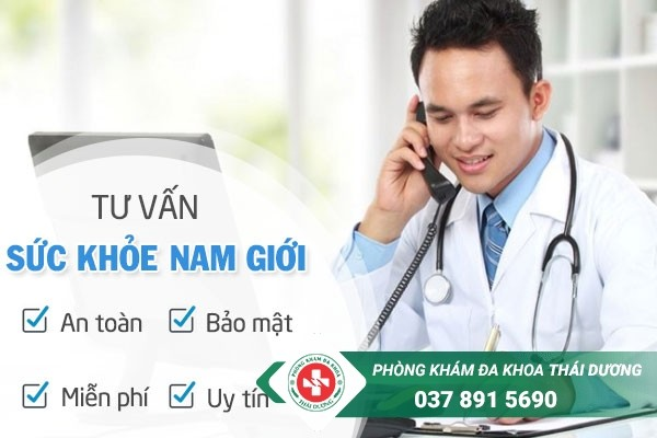 Tư vấn sức khỏe nam giới online miễn phí tại Phòng khám Thái Dương - Biên Hòa